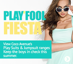 Summer Playsuits now instock at Coco Avenue
